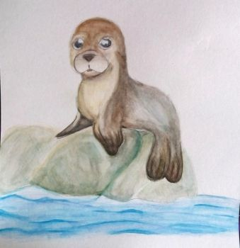 Sea Lion by harvestpupp