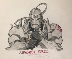 Alphonse Elric by FlameFatalis