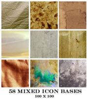 Mixed Icon Bases 100x100 by Ch4ron