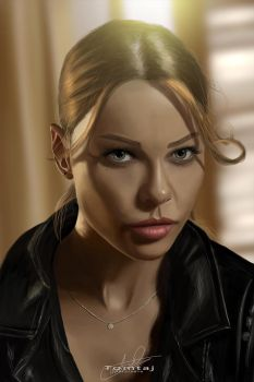 Chloe Decker #Lucifer by Tomtaj1
