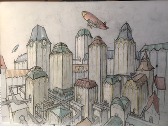 Sketchy city by User96