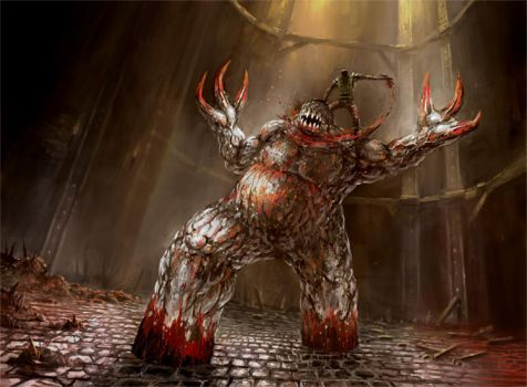 the poor shambler is killed by yonaz