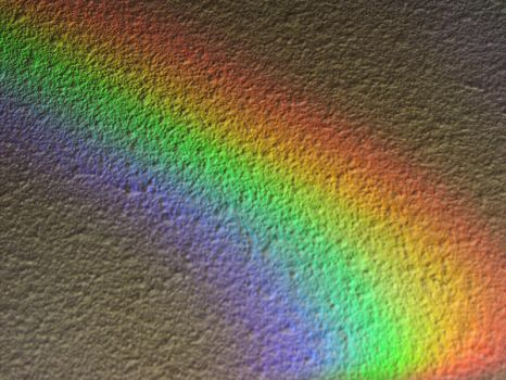 rainbow on the wall I by m0nNiQue