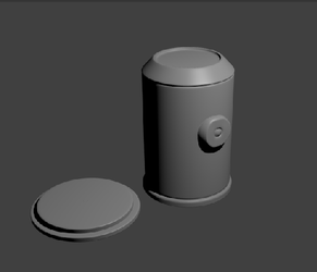 Capsule Model for Project Capsule (Untextured) by Pensuke
