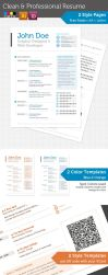Clean and Professional Resume by FP-Collective