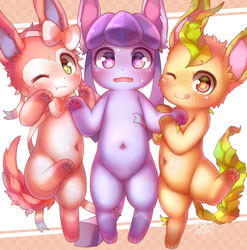Eeveelution by D685ab7f-pis