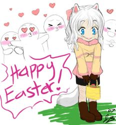 Happy Easter : Too Much Luv D8 by RyuichiFoxe