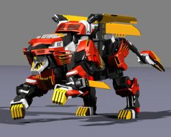 Liger Zero - Running by 6th-Dimensional