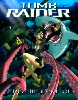 Tomb Raider: POTBP Cover Page by Severflame