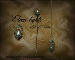 elven lights by priesteres-stock