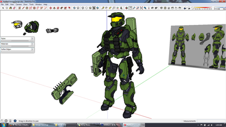Much Armor, very Master Chief by AlmightyNabeshin