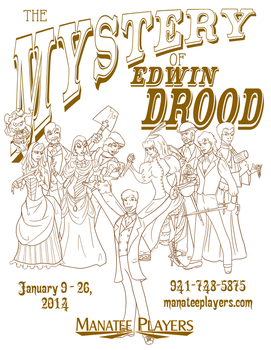 Drood Poster - Vertical by JasonKimble