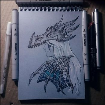 Sketchbook - Sindragosa by Candra