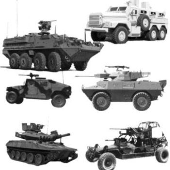 Military Vehicles by Chrippy