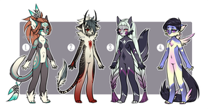Chibi Adoptables - [CLOSED] by Siraviena