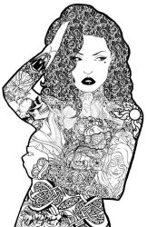 The Tattooed Lady V.1. by Shannahigans