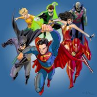 Justice League by arunion