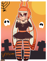 ~Splatoween by Nini-the-kitten