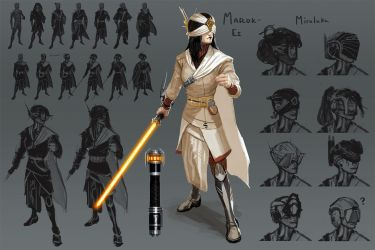 Star Wars character by Kezrek