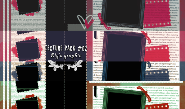 TEXTURE PACK #02 - ELY'S GRAPHIC by elysgraphic