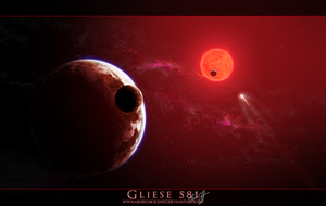 Gliese 581 by arisechicken117