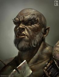 The Last Orc by raynnerGIL