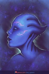 Asari by the-Scarlet-Queen