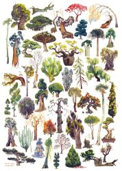 50 Trees by Reluin