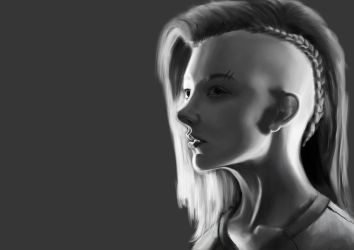 [FANART] Cressida from Hunger Games by ToxiikAngel