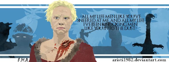 FLAG (Quote) - series 2 - Brienne by aristi1982