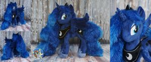 Princess Luna with sparkle fur by Essorille