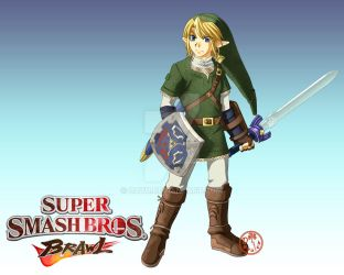 Smash Brothers Brawl - Link by Dayu