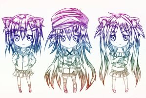 chibi collection by carldraw