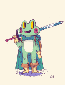 Frog by ErbMaster