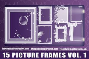 Picture Frame Brushes Vol. 1 by fiftyfivepixels