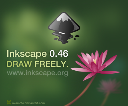 Inkscape 0.46 About Screen by Miamoto