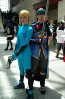 Samus and Marth by Reiband
