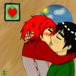 Lee and Gaara Making out by XxSandDemon666xX