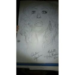 Christina Aguilera by Chellemybell90