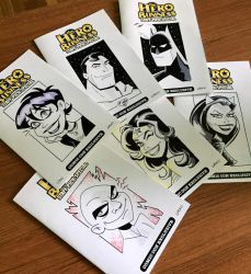 Hero Head Sketches Covers Are Here by BillWalko