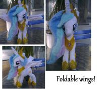 Princess celestia small plush! by Epicrainbowcrafts