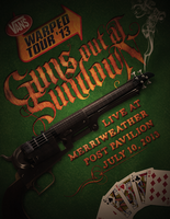 Guns Out At Sundown - Warped Tour Poster by ClintonKun