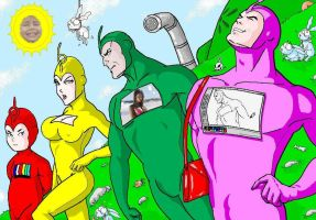 NEW TELETUBBIES??? by paintmarvels