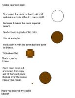 Cookie tutorial by collectable