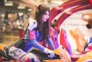 D.Va Cosplay by WhiteSpringPro