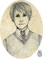 HP: Fred's Portrait by Teacola