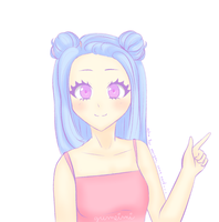 Astra (colored sketch gift for my best friend) by gumeimi