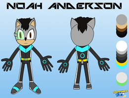 Noah Anderson Reference Sheet by Sapphire1X7