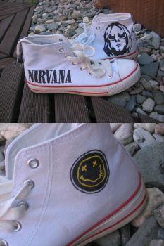 Nirvana shoes by Papaja17