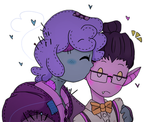 Pincushion And Liam by Louloucutey